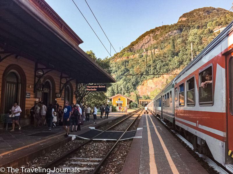 Varenna Train Station Estación de Trenes de Varenna