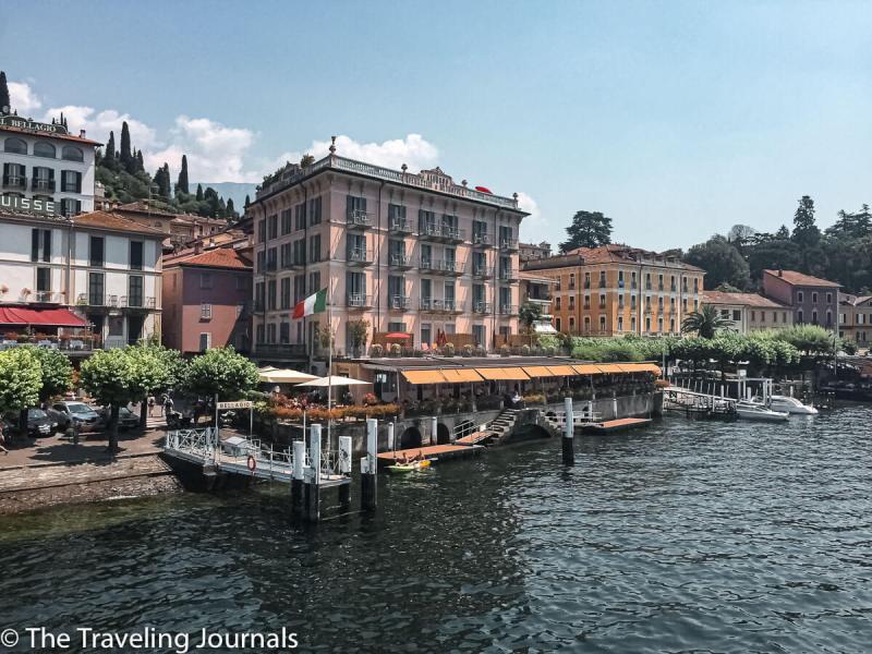 Bellagio, view from the Ferry vista de Bellagio desde el Ferry