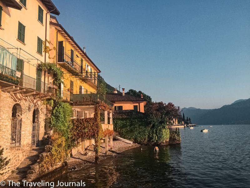 Sunset in Varenna, Lake Como,El mejor lugar para disfrutar de la puesta del sol