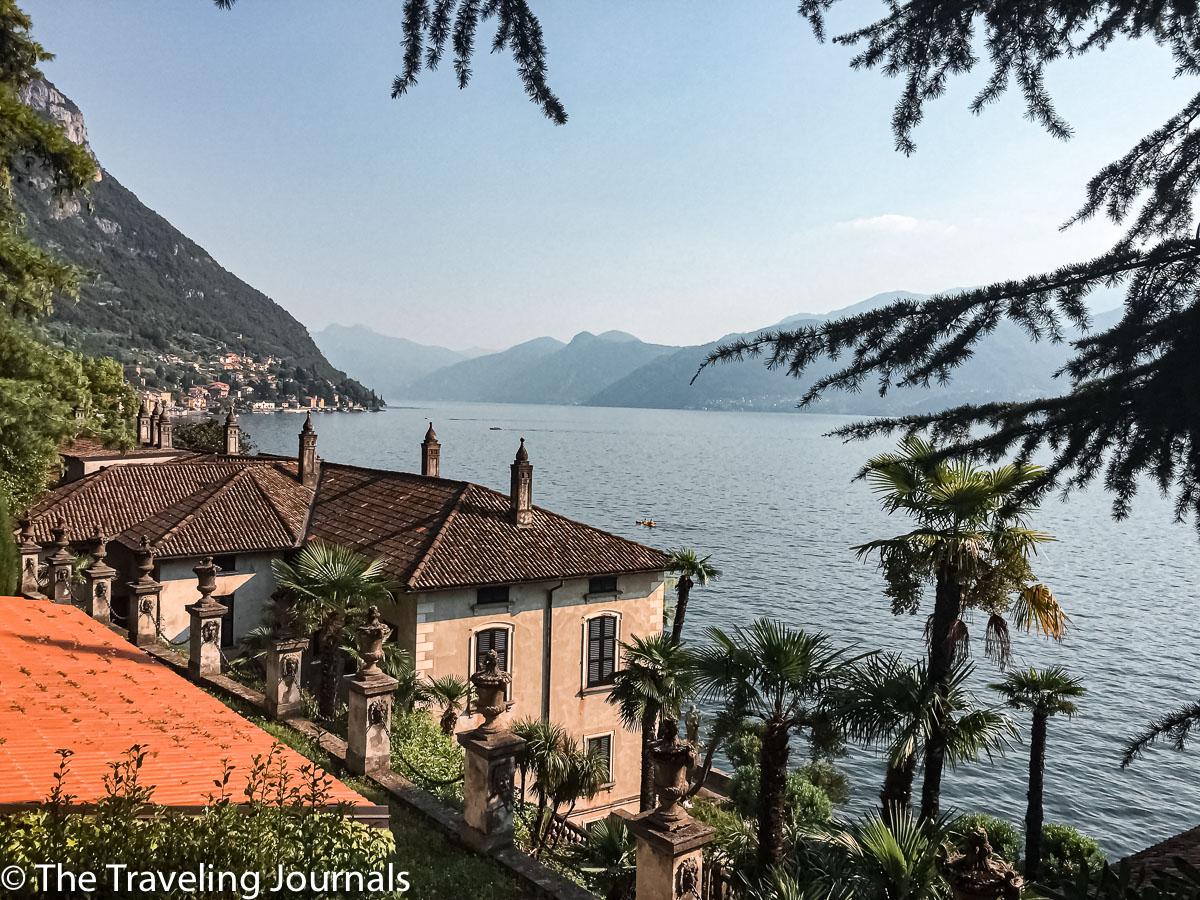 View of Villa Monastero, Lake Como