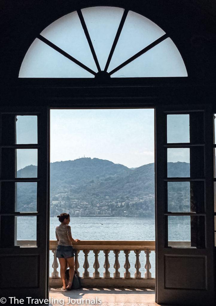 Balcony in Villa Carlotta