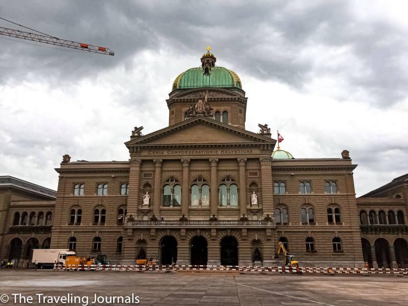 Bundeshaus- Parliament Building- Edificio del Parlamento Suizo-