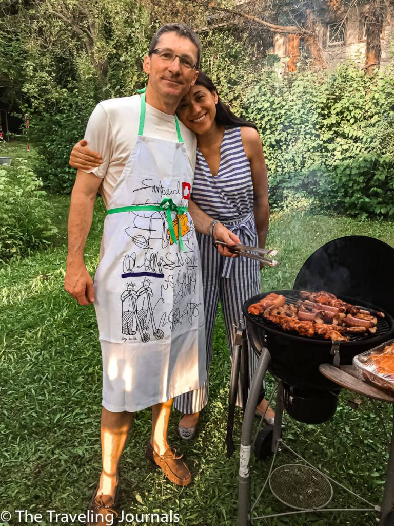 couple-husband wife- friends- amigos - esposos - pareja- barbecue- barbacoa- birthday-bienvenida-welcome