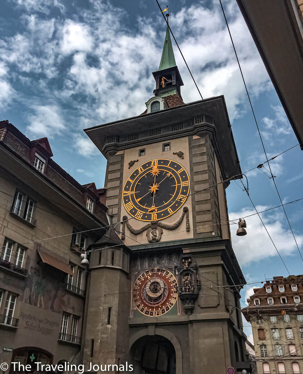 Zytglogge-clock tower-Bern Landmark-guard tower-prison-berna-torre relax