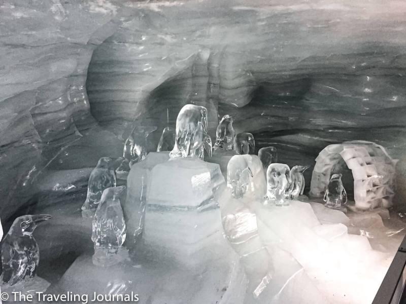 Ice sculptures in Jungfraujoch, Esculturas de Hielo en Jungfraujoch, Palacio de Hielo, Ice Palace