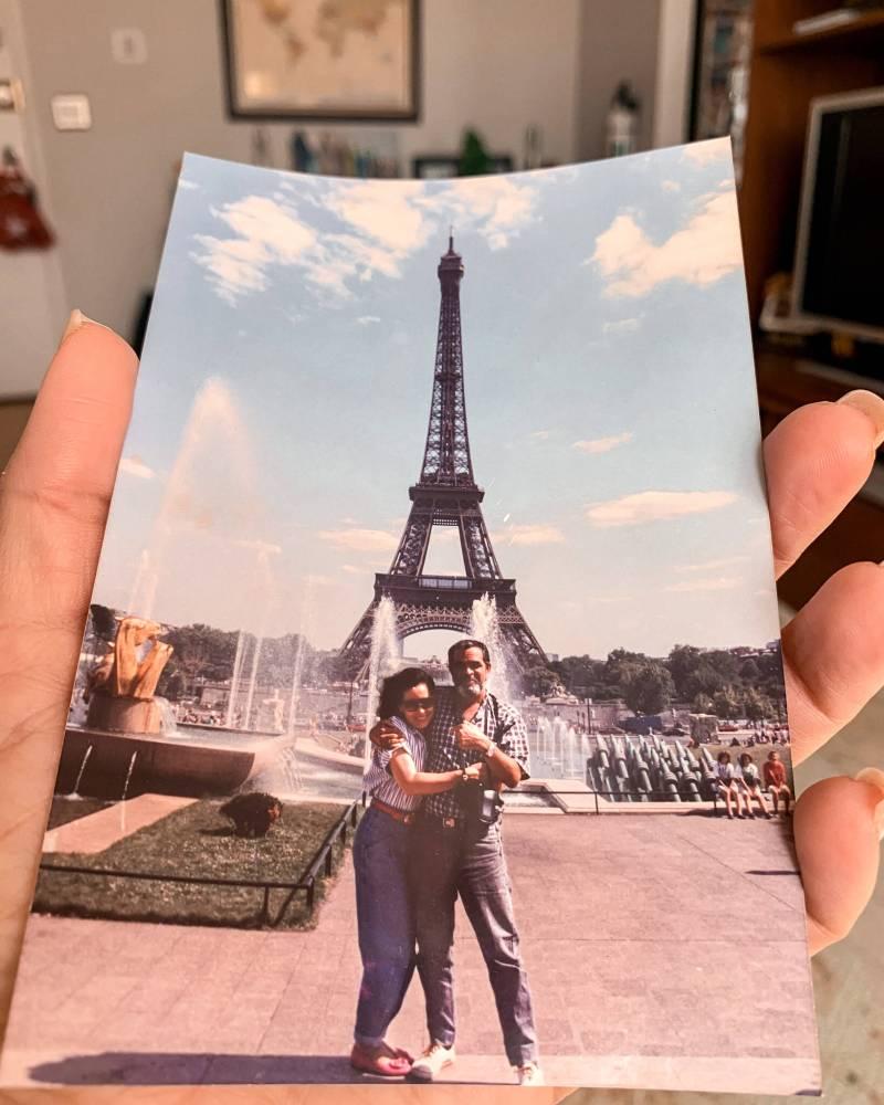 parents in Paris, Padres en Paris, 1er viaje a Paris, First time in Paris, Paris with your person, Paris con tu verdadero amor, memories, memories de mis padres, recuerdos en fotos,